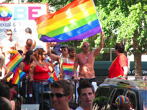 Gay, Flag, Parade