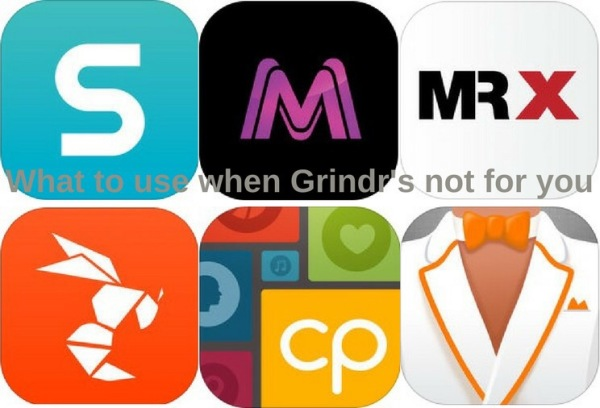 Alternatives to grindr, surge, meet market, mr x, hornet, compatible partners, VGL