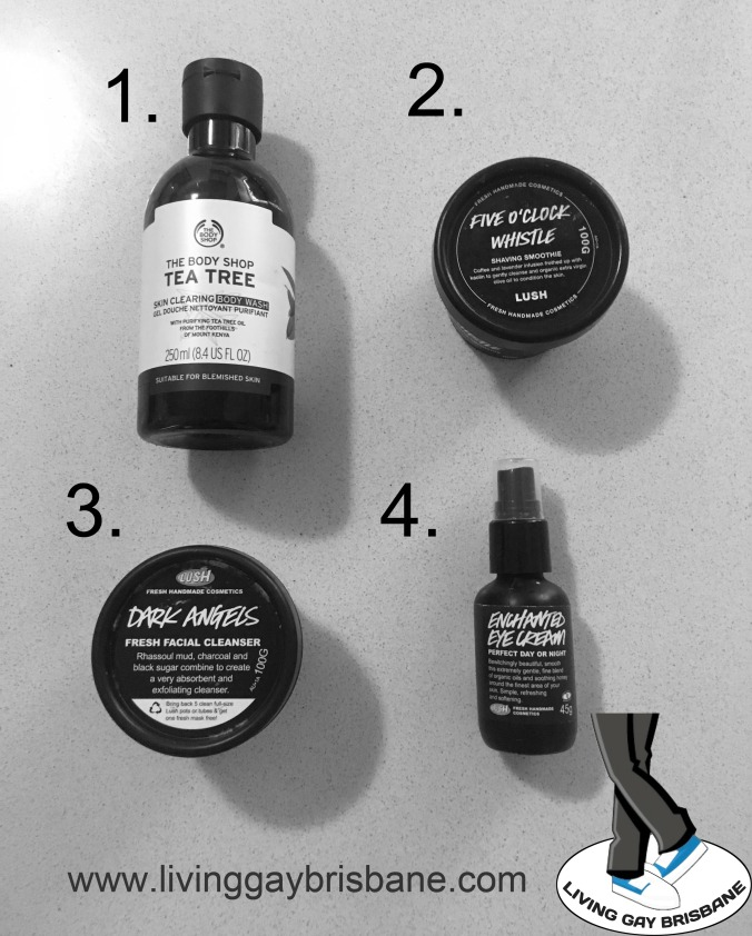 mens beauty routine