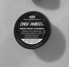 dark angels facial cleanser lush