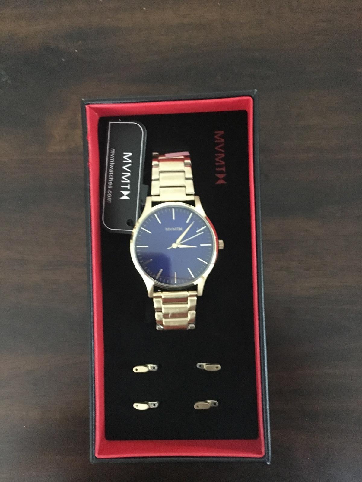 mvmt gold watch