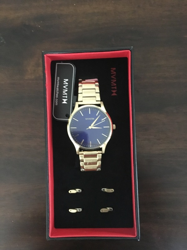 mvmt gold watch