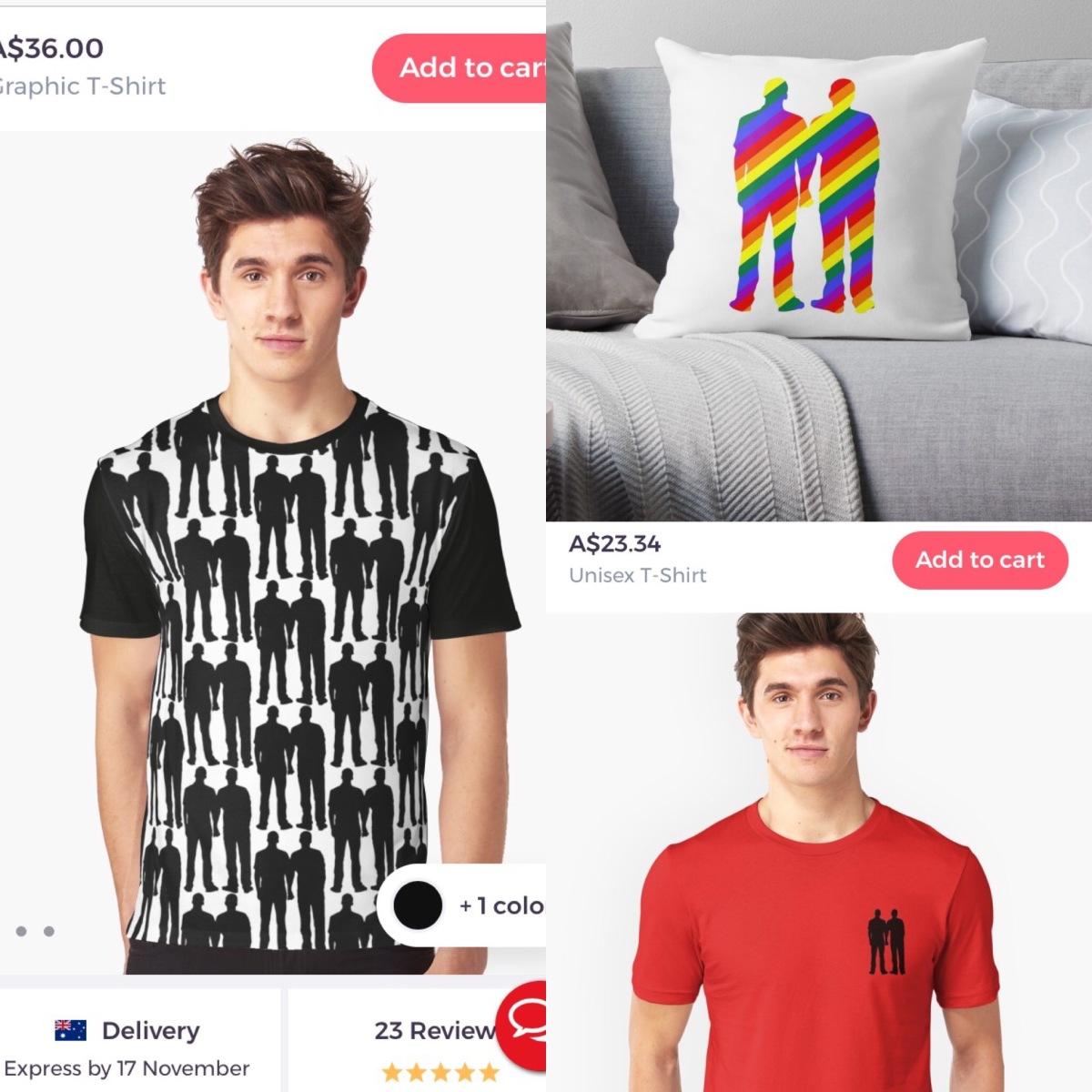 gay tshirts, lgbt pride shirts, baseball tee