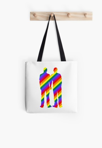 gay pride tote
