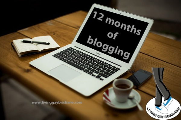 12 months of blogging