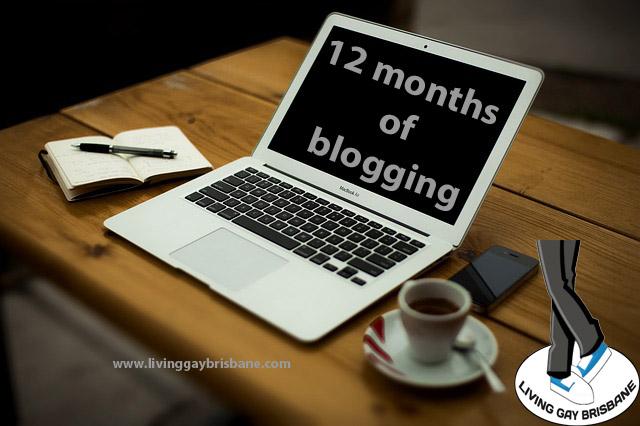 12 months of blogging